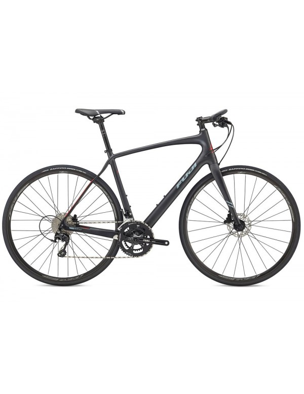Fuji Absolute Carbon City Road Bike 2018 Hybrid, Commuter and Comfort