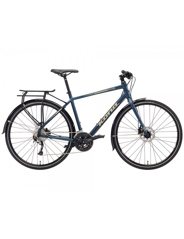 Kona Dew Deluxe Commuter Bike 2018 Hybrid, Commuter and Comfort