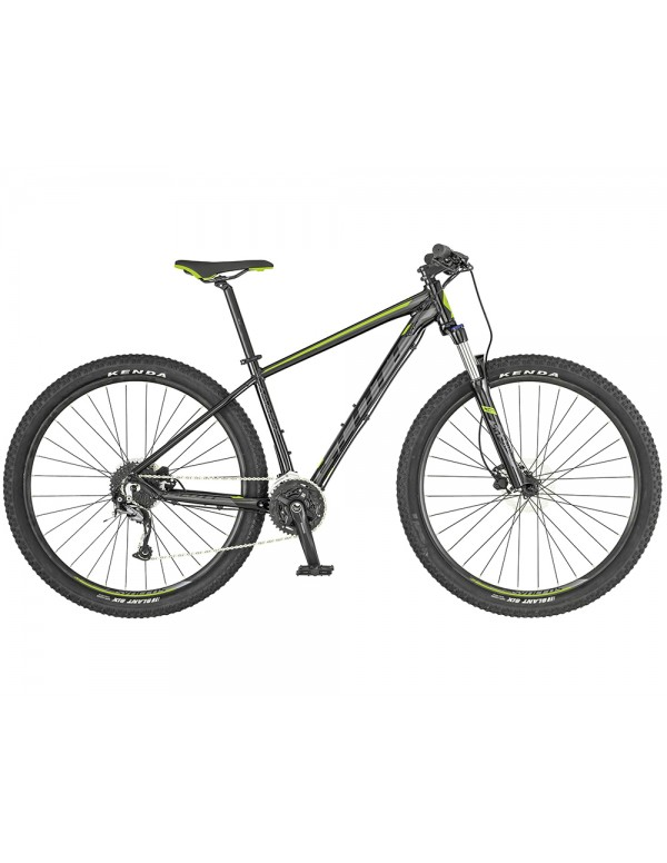 Scott Aspect 740 Mountain Bike 2019 (Black/Green) Mountain