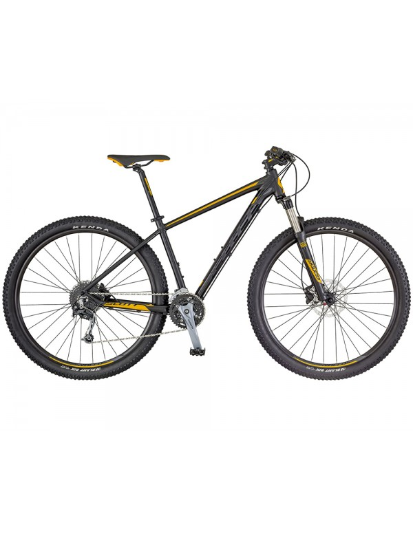 Scott Aspect 930 Mountain Bike 2018 (Black/Yellow) Mountain