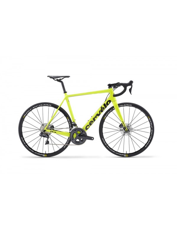 Cervelo R3 Disc Ultegra Di2 8070 Road Bike 2018 (Yellow) Road