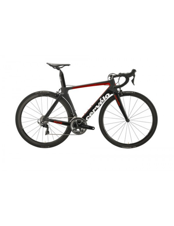 Cervelo S5 Dura Ace 9100 Road Bike 2018 (Black/Red/White) Road