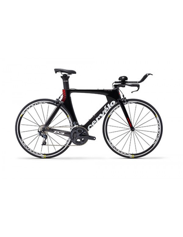 Cervelo P3 Ultegra 8000 Tri TT Bike 2018 (Black/Grey/Red) TT/Triathlon