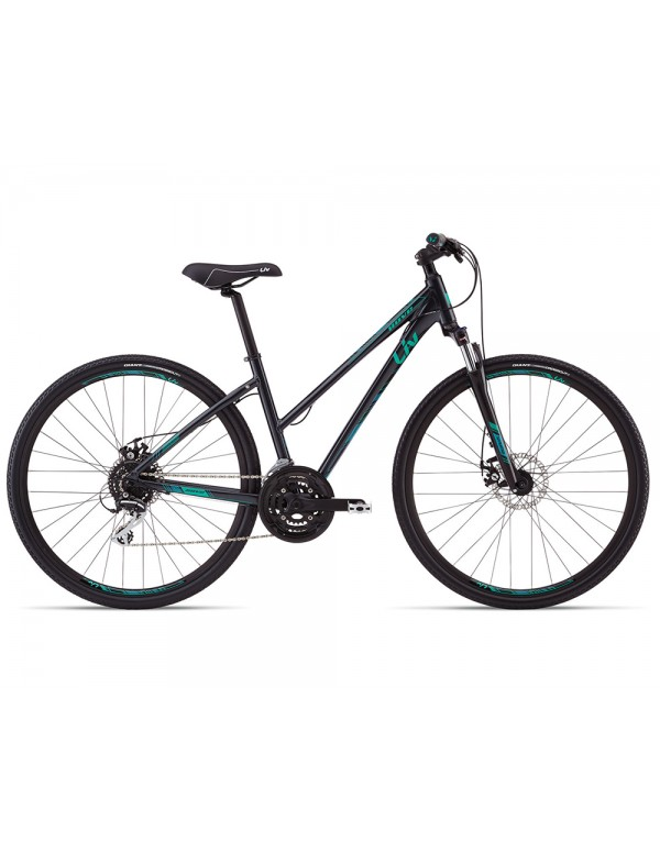 Giant Rove 3 Disc Step Thru Womens Bike 2019 Hybrid, Commuter and Comfort