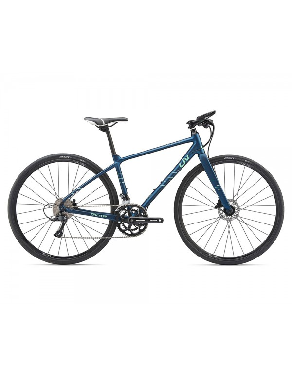 Giant Thrive 2 Disc Womens Bike 2019 Hybrid, Commuter and Comfort