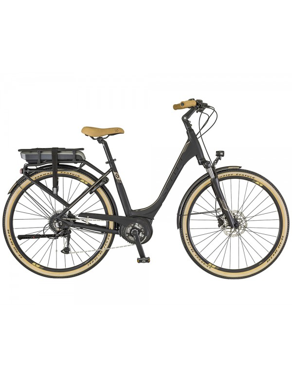 Scott E-Sub Activ Unisex Rack Type Electric Bike 2018 Electric